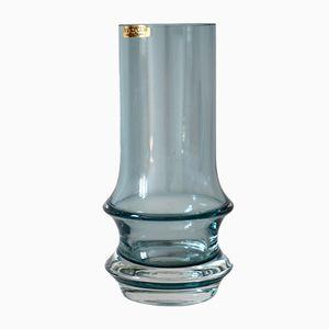 Blaue Glas Vase von Tamara Aladin für Finncristall