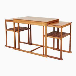 Swedish Slaeden Tables by Carl Malmsten, 1960s