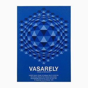 Poster serigrafico della mostra di Victor Vasarely, 1978