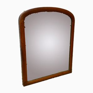 Victorian Wall Mirror with Wooden Frame