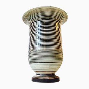 Vaso da terra in ceramica vintage di Herman August Kähler per Herman August Kähler, Danimarca, anni '20