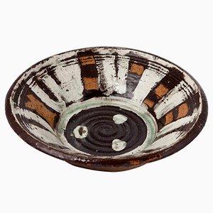 Stoneware Bowl by Herta Hillfon, 1960