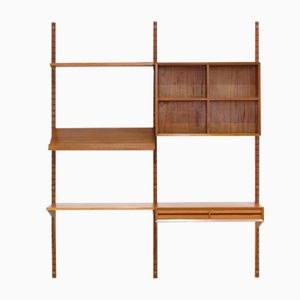 Vintage Mid-Century Teak Wall System by Poul Cadovius for Cado