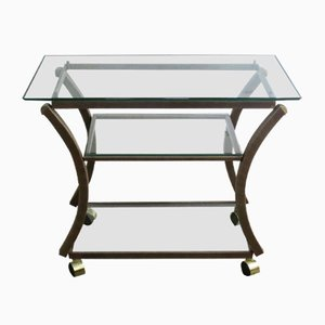 French Trolley Table by Pierre Vandel, 1970s