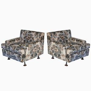 Quadratische Vintage Sessel von Marco Zanuso für Arflex, 2er Set