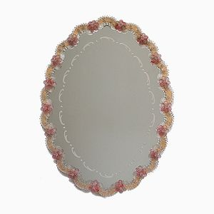 Ovaler Venezianischer Spiegel, 1930er