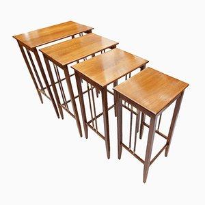 Tavolini a incastro Art Nouveau