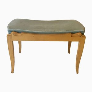 Vintage French Sycamore Bench