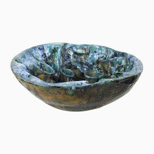 Skulpturale Malteser Keramikschale von Gabriel Caruana, 2001