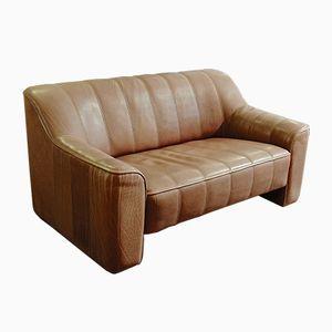 Schweizer Vintage DS 44 2-Sitzer Sofa von de Sede