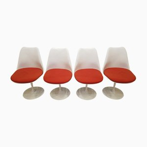 Vintage Tulip Chairs by Eero Saarinen for Knoll, Set of 4