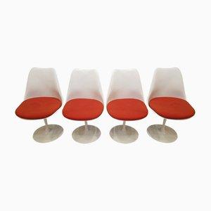 Vintage Tulip Stühle von Eero Saarinen für Knoll, 4er Set