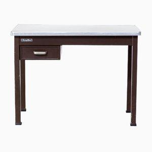 Schreibtisch aus Festem Metall von Strong Steel, 1970er