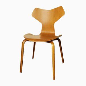Sedia modello 4130 Grand-Prix di Arne Jacobsen per Fritz Hansen, anni '50