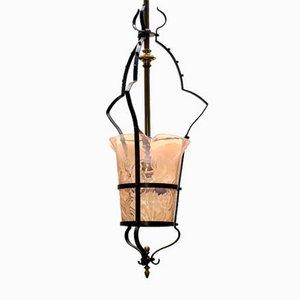 Lampe à Suspension Antique Art Nouveau