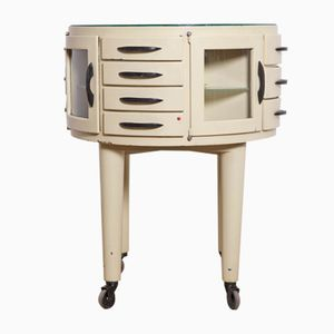Rotating Dental Cabinet from Leon Martin Paris, 1950s
