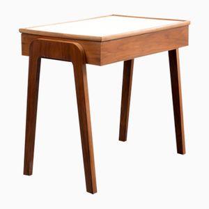Zierlicher Mid-Century Walnuss Schreibtisch