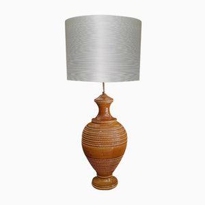 Italienische Mid-Century Keramik Lampe von Aldo Londi für Bitossi
