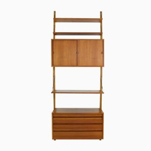 Danish Modular Wall Unit with Secretaire by Paul Cadovious for Cado, 1960s