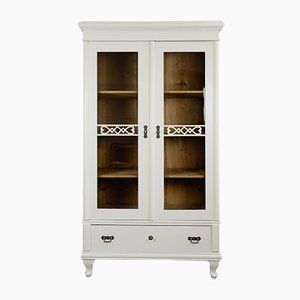 White Display Cabinet, 1850s