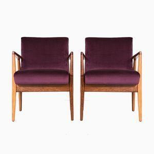 Vintage Sessel von Jens Risom, 2er Set