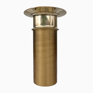 Brass Candleholder by Tapio Wirkkala for Kultakeskus