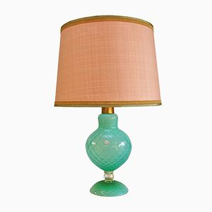 Handmade Italian Murano Glass Table Lamp, 1950s