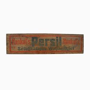 Insegna Persil vintage in legno