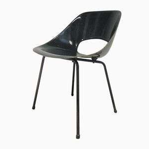 Mid-Century French Filigree Fiberglass Chair by Pierre Guariche for Steiner