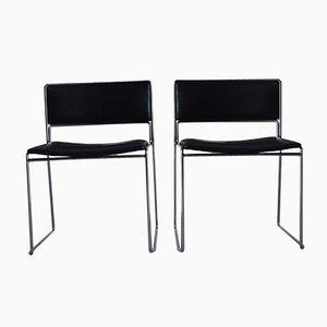Chaises de Bureau Vintage par Preben Fabricius & Jørgen Kastholm pour Kill International, Allemagne, Set de 2