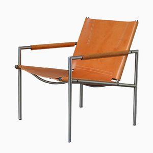 Mid-Century SZ01 Easy Chair von Martin Visser für 't Spectrum, 1965