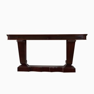 Table Console Art Déco en Palissandre