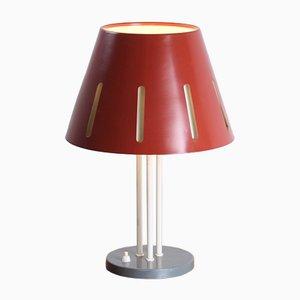 Grande Lampe de Bureau Série Sun Rouge par H. Th. J. A. Busquet pour Hala
