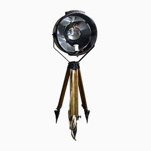 Große Industrielle Stehlampe, 1950er