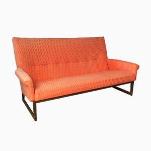 Teak Winkelrahmen Sofa, 1960er