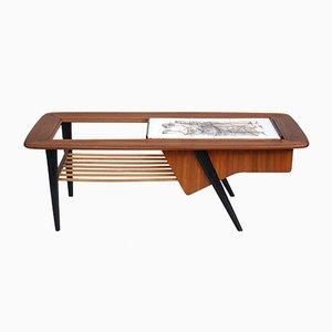 Belgian Side Table Nr. 210 by Alfred Hendricks for Belform, 1960s