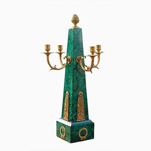 Amerikanischer Vintage Kerzenständer von Maitland Smith