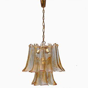 Italian Glass Chandelier by Mazzega Murano, 1970