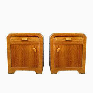 Anthroposophic Night Stands, 1930s, Set of 2