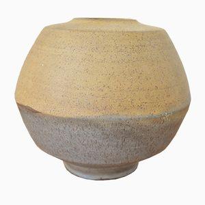 Deutscher Keramik Vase von Volker Ellwanger, 1960er