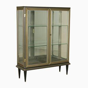 Wood, Skai, and Glass Showcase by Umberto Mascagni, 1950s