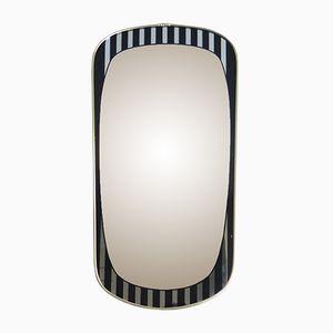 Spiegel mit Schwarzen Streifen, 1950er
