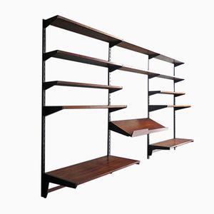 Vintage Palisander Modular Shelf System