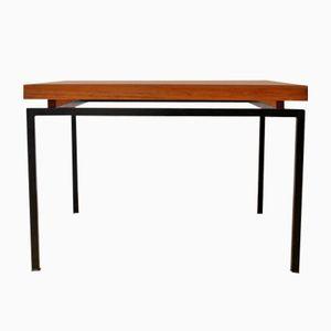Quadratischer Mid-Century Tisch, 1960er