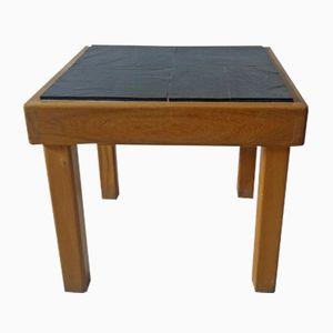 Elm & Slate Side Table from Regain, 1980s