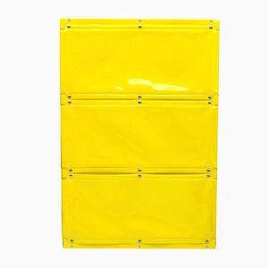 Unità di mensole vintage serie Softline gialla di Otto Zapf per InDesign