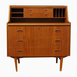 Mid-Century Teak Schreibtisch oder Sekretär, 1960er