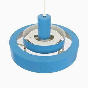 Lampe à Suspension Equator Multi-Anneaux par Jo Hammerborg pour Fog & Mørup, 1960s