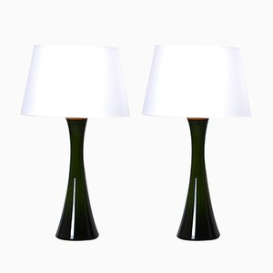 Mid-Century Diabolo Shaped Table Lamps by Berndt Nordstedt for Bergboms, Set of 2