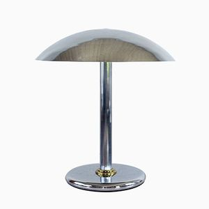 Vintage Mushroom Shaped Lamp in Metal